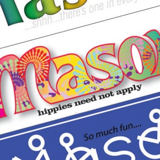 Mason Bumperstickers